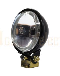 Britax Round Mini Spot Lamp 94mm Black Housing