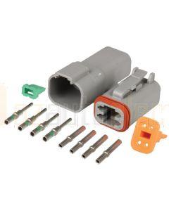Hella Mining 4 Pin DT Series Female Deutsch Connector