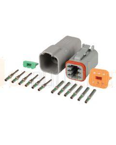 Hella Mining HM4963 DT Series Deutsch 6 Pole Plug and Socket