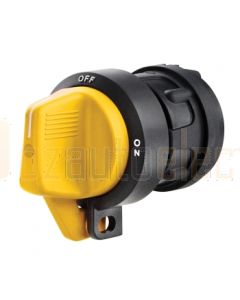 Hella Battery Master Lockout Switch, Yellow Handle HM7592Y