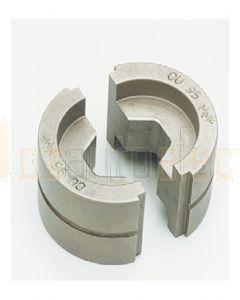 Quikcrimp 35mm² Copper Hex Crimp Dies for 12 Tonne Battery Tool