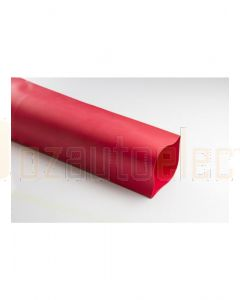 Quikcrimp Pre Cut Adhesive Lined Heatshrink - 25mm Red