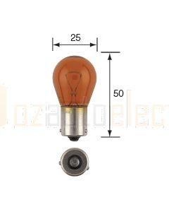 Narva 17649 Stop Tail Indicator 24V 21W Amber BAU15s Globes