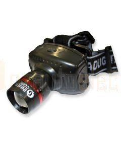 Innercore Black Zoom LED Headlamp