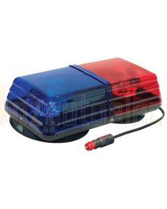 Ionnic 601.AA72.M Blaze Magnetic Lightbar - Red/Blue Lens (24V)