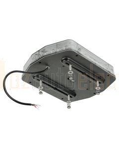 Ionnic LSA-0110C LED Micro-Bar Clear Lens - 4 Bolt (Amber)