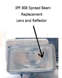 IPF 808 Replacement Lens - Spread Beam