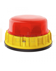 Hella K-LED MINING Series Beacon, Red - Direct Mount