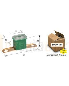 Narva 53250 L-Type Fusible Link Long Tab (61mm) - 50Amps (Box of 10)