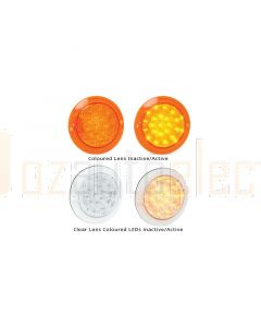 LED Autolamps 102AC Single Reverse Lamp - Clear Lens (Bulk Poly Bag)