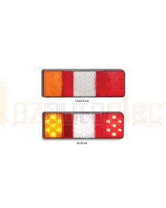 LED Autolamps 250ARWM Stop/Tail/Indicator/Reverse Combination Lamp (Blister)