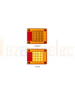LED Autolamps 460AMB Single Rear Indicator Lamp (Poly Bag)