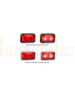 LED Autolamps 58RM Rear End Outline Marker Lamp (Blister Single)