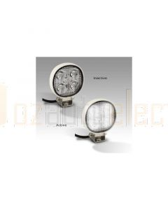 LED Autolamps 7512WM Flood/Reverse Beam Lamp - White Housing (Single Blister)