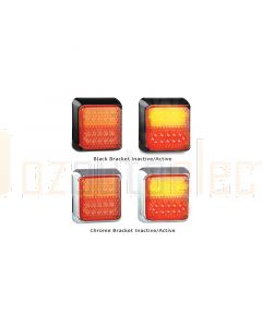LED Autolamps 80BSTIM2 Stop/Tail & Indicator Combination Lamp (Twin Blister)