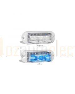LED Autolamps 91WBM Marine Strobe/Constant Lamp - White (Single Box)