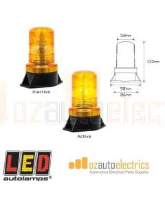 LED Autolamps 112ABM Amber Strobe Beacon