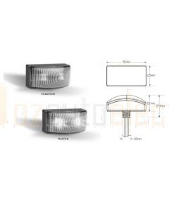 LED Autolamps 5025WM2 Front End Outline LED Marker Lamps