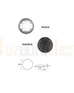 LED Autolamps 82WMB 12-24V LED Round Reverse Lamp