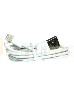 Aerpro LI5USBWH Lightning To USB Cable White