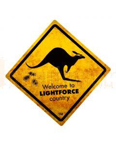 Lightforce Coreflute Sign Roo 2 Sided