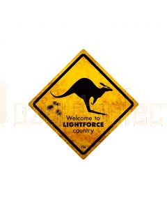 Lightforce Dirty Roo Bumper Sticker