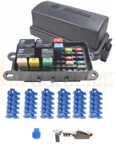 Littlefuse HWB60 Series Power Distribution Kit with Module, Loose Terminals and Cable Seals
