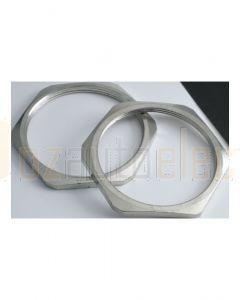 Quikcrimp Metric Lock Nuts For Metal Glands - M20 Thread