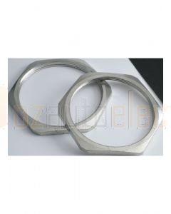 Quikcrimp Metric Lock Nuts For Metal Glands - M25