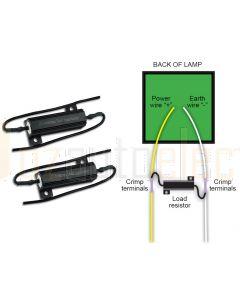 LED Autolamps LR12/2 Load Resistor - 12V,  6 Ohms (Twin Blister)