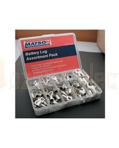 Matson Batttery Lug Pack Assort Qty 150