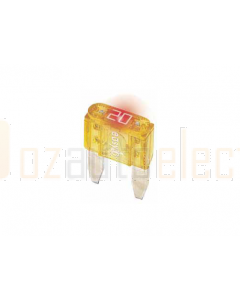 Prolec Mini Blade Fuses with Blown Fuse Indicator 32V 10A
