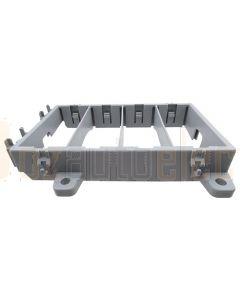Housing Frame for 4 Modules (Grey)