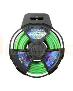 Aerpro MX1412G Maxcor 14awg 12m Speaker Cable Green