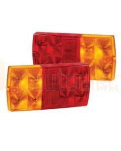 Narva 12 Volt L.E.D Slimline Rear Stop / Tail & Direction Indicator Lamps - Blister Pack of 2 (93630BL2)