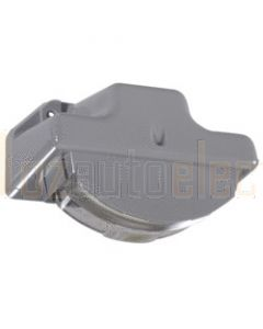Narva 91532 12 Volt Sealed Licence Plate Lamp Kit in High Impact Plastic Housing (Grey Body)