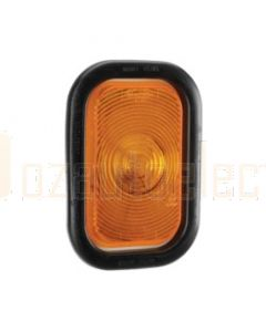 Narva 94502 12 Volt Sealed Rear Direction Indicator Lamp Kit (Amber) with Vinyl Grommet