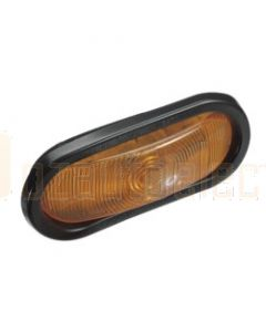 Narva 96002 12 Volt Sealed Rear Direction Indicator Lamp Kit (Amber) with Vinyl Grommet