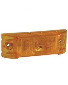 Narva 92102 12 Volt Sealed Side Marker or Side Direction Indicator or External Cabin Lamp Kit (Amber)