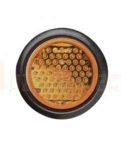 Narva 94406 24 Volt L.E.D Rear Direction Indicator Lamp (Amber) with Vinyl Grommet