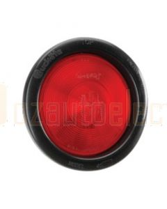 Narva 94014 24 Volt Sealed Rear Stop / Tail Lamp Kit (Red) with Vinyl Grommet
