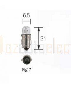 Narva 47283 24V Instrument/License Plate Globe BA7s 3W - Box of 10