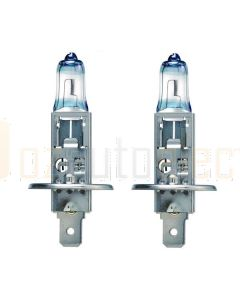 Narva 48530BL2 Halogen H1 Globe Blue Plus 110 12V 55W P14.5s (Blister Pack of 2)