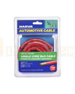 Narva 5802-5RD 255A Red 2 B&S Cable (5m)