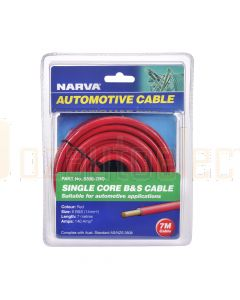 Narva 5806-7RD 140A Red 6 B&S Cable (7m)