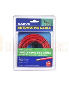Narva 5808-7RD 100A Red 8 B&S Cable (5m)