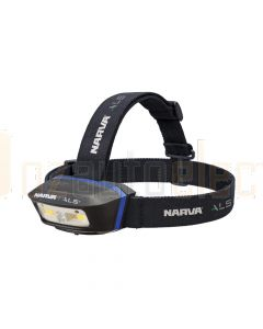 Narva 71427 ALS LED Rechargeable Head Lamp with Green and Red Functions - 2500 Lumens
