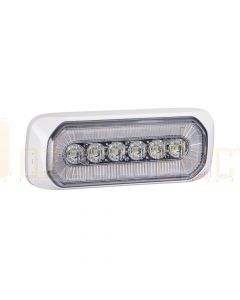 Narva 85220-WB Halo LED Warning Light - White Bezel