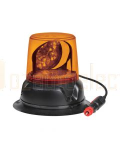 Narva 85472A 12/24V Aeromax LED Rotating Beacon Magnetic Base - Amber
