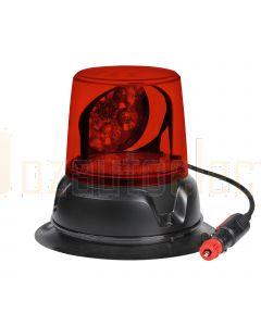Narva 85472R 12/24V Aeromax LED Rotating Beacon Magnetic Base - Red